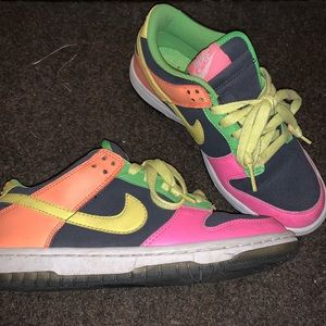 Colorful Dunks